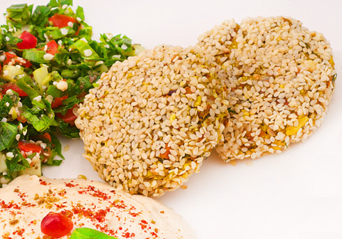 falafel raw-vegan