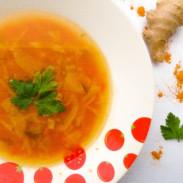supa de varza cu turmeric