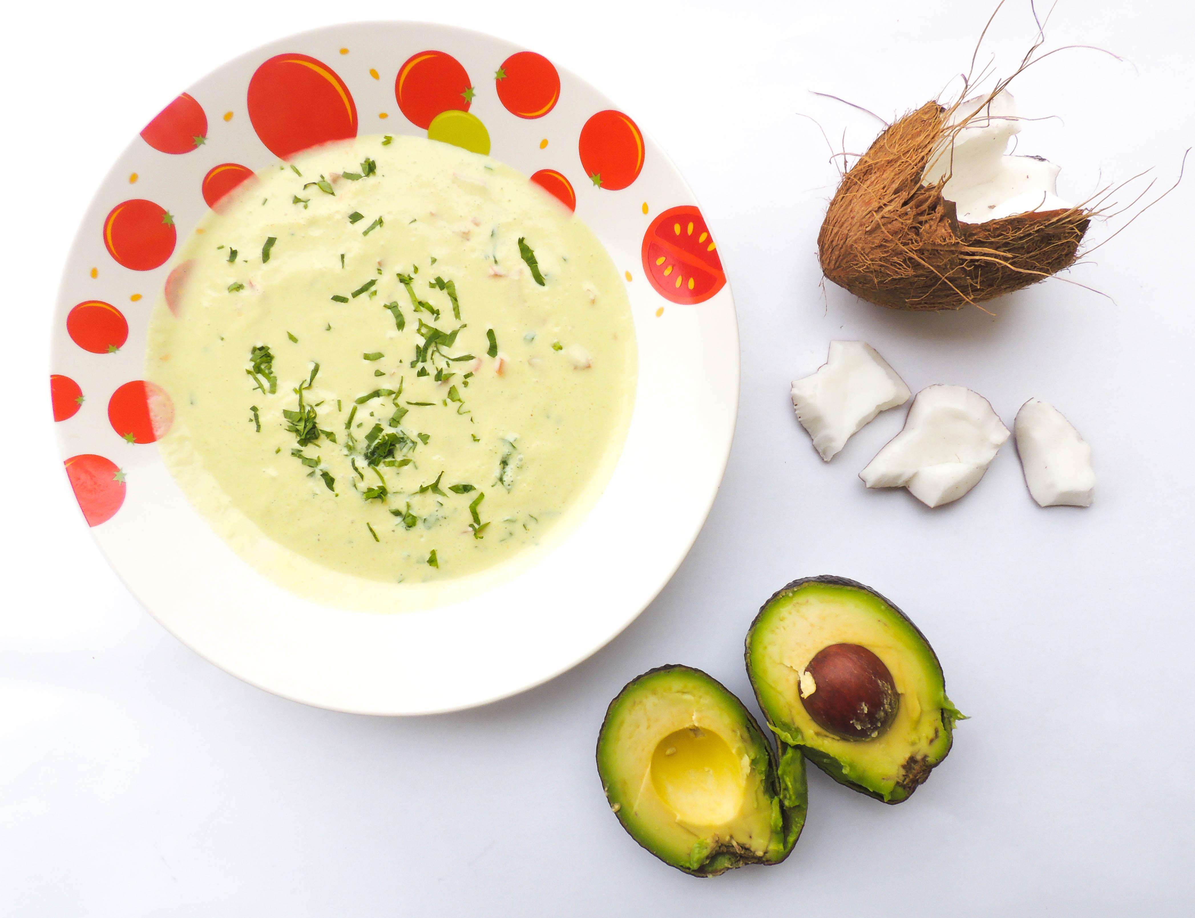 supa raw de cocos