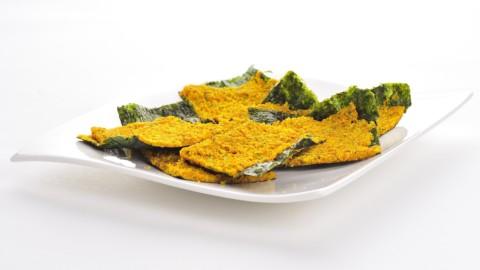 chipsuri cu alge nori si salsa