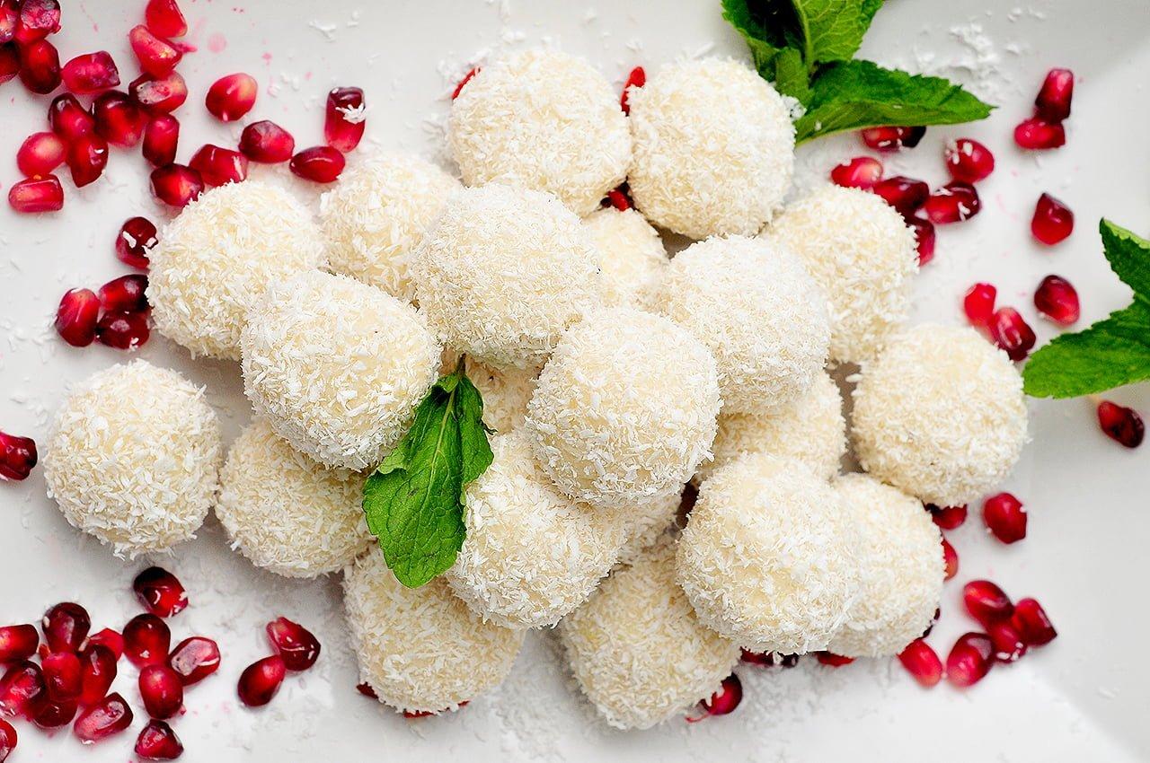 bomboane aromate cu cocos