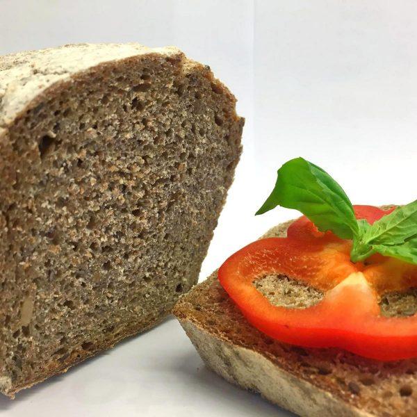 pâine integrală dospită cu maia