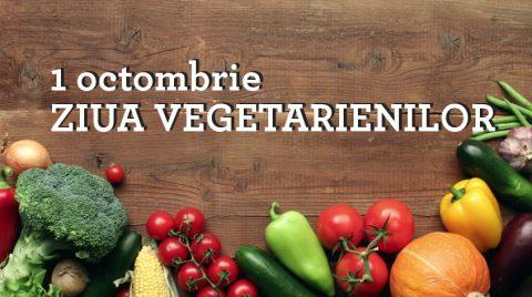 5 Motive să te bucuri de Ziua Mondială a Vegetarienilor